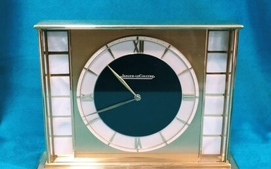 Clock - Jaeger-LeCoultre - Brass, Mother of pearl - Late 20th century