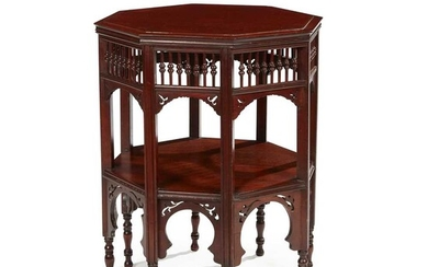 LIBERTY & CO., LONDON (ATTRIBUTED MAKER) ANGLO-MORESQUE OCCASIONAL TABLE, CIRCA 1910