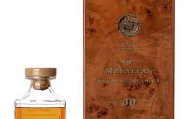 Macallan 30 Year Old finished in Mizunara Cask 48.6 ABV NV (1 BT70)