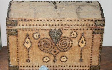 Rare 18th Century French Domed Coffer