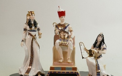 Royal Worcester limited edition figure group The Lion of Ram...