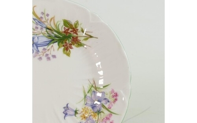 Shelley tea set in the Wild Flowers design: To include and u...