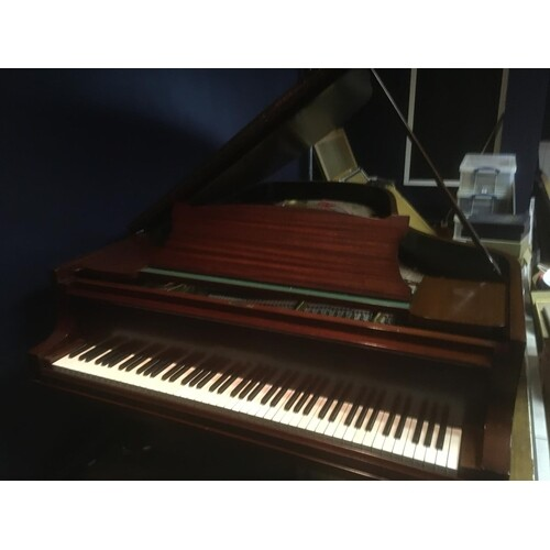Steinway (c1923) A 6ft 11in Model B grand piano in a mahogan...