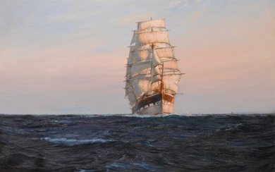 Wings of Evening, Montague Dawson R.S.M.A., F.R.S.A.