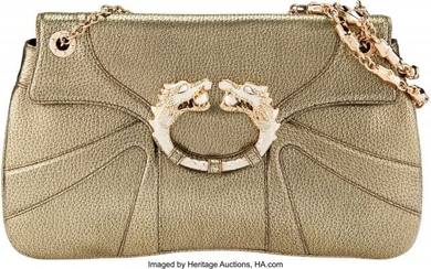 Gucci by Tom Ford Limited Edition Gold Leather D