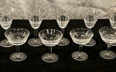 A Set of Waterford Crystal Stemware