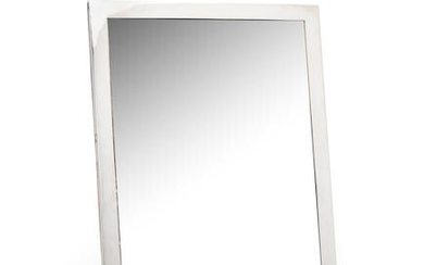 A large colonial silver photograph frame