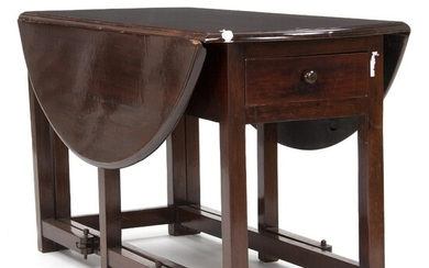 NOT SOLD. A late 19th century Philippine hardwood drop-leaf table. H. 72. L. 62/138. D. 130 cm. – Bruun Rasmussen Auctioneers of Fine Art