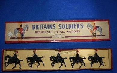 Britains Soldiers, set 1343, The Royal Horse Guards - winter...