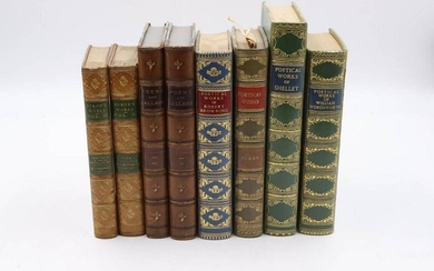 Group of Books on British Poetry