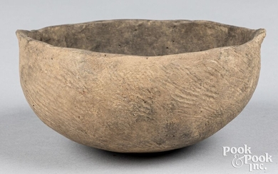 Native American Indian pottery bowl
