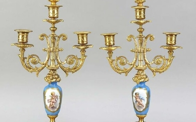 Pair of candlesticks, France