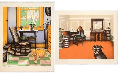 Richard Grote, Two Lithographs