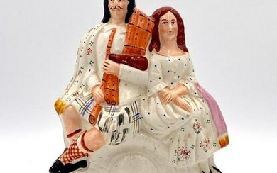 Staffordshire Figural Group, Highland Couple