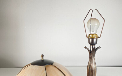 Table lamp from the L&L WMC manufactory.