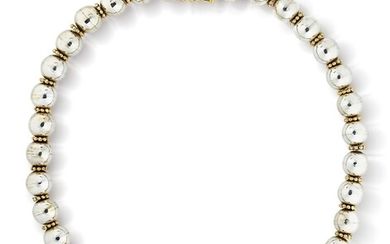 Zolotas | Collier argent et or | Silver and gold necklace
