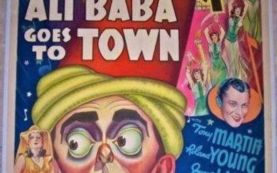 Ali Baba Goes To Town - Eddie Cantor (1937) US One