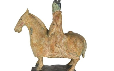 Chinese Tang Horse-Style Ceramic