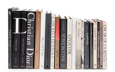 Collection of 20 Fashion Designer Books from the