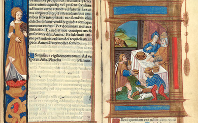 ILLUMINATED BOOK OF HOURS USE OF ROME.