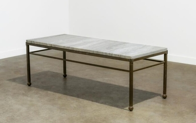 Marble & Brass Coffee Table