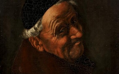 Portrait of an Old Monk Oil on Panel 1937