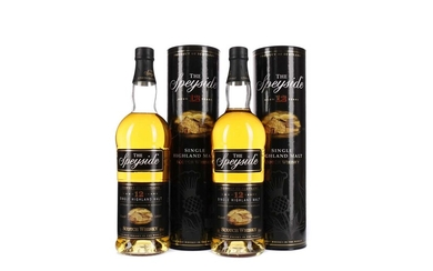 TWO BOTTLES OF SPEYSIDE AGED 12 YEARS
