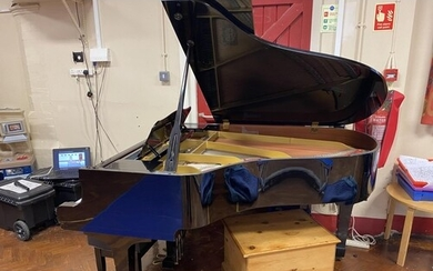 Yamaha c1986) A 6ft Model G3 grand piano in a bright ebonise...