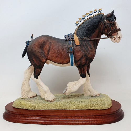 A Border Fine Arts figure, Victory at the Highland, limited ...