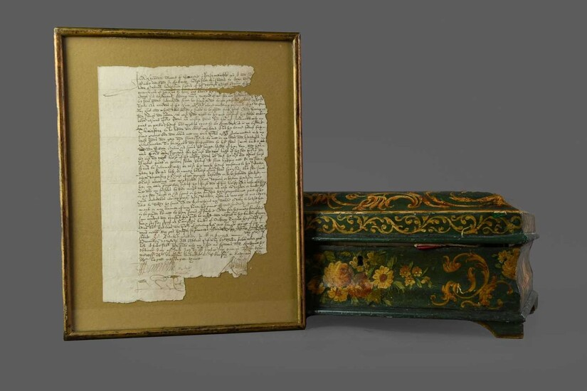 A COLLECTION OF 17TH CENTURY AND LATER DOCUMENTS