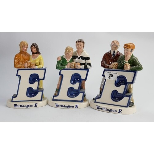 Beswick Worthington E advertising figures: comprising Rugby ...