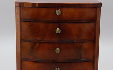 Chest of drawers, Denmark First half of the 19th century.