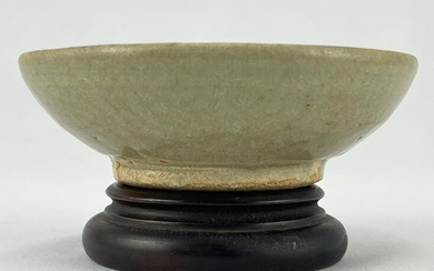 Chinese Celadon Footed Bowl, Dish