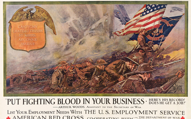 DAN SMITH (1865 1934) PUT FIGHTING BLOOD IN YOUR BUSINESS