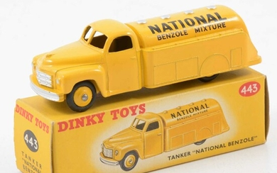 Dinky Toys die-cast model no.443 Tanker National Benzole