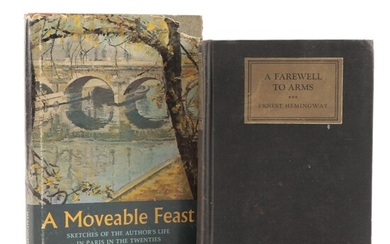 """First Edition """"A Moveable Feast"""" and More by Ernest Hemingway"""