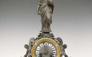 Japy Freres French Figural Clock
