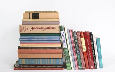 Large Group of Books on American Art and Design