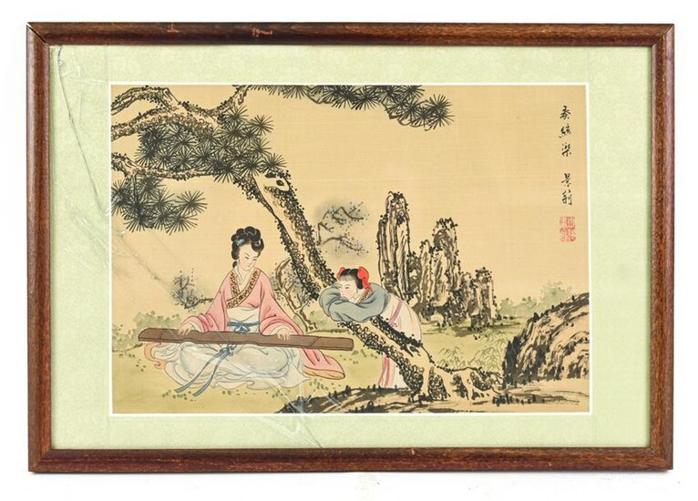 MODERN CHINESE PAINTING ON SILK
