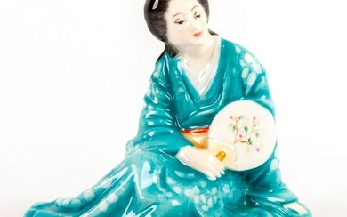 Royal Doulton Colorway Figurine, The Japanese Fan