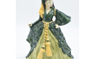 Royal Doulton lady figure Scarlett O'Hara - Gone With the Wi...