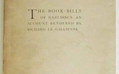 The Book-Bills Of Narcissus, 1891