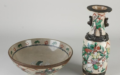 Two Pieces of Chinese Cantonese Porcelain