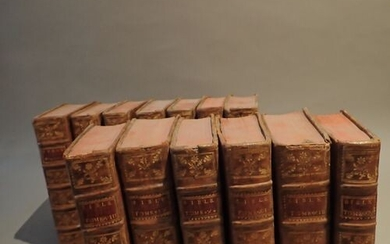 [Vence Bible]. The Holy Bible in Latin and in Francis......