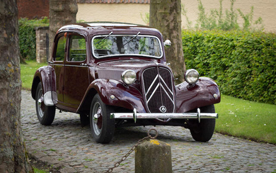 1949 Citroën Traction Avant 11BL, Chassis no. 2495486 Engine no. AN 04914