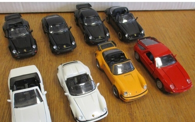 1960s onwards unboxed collection of car and commercial vehic...