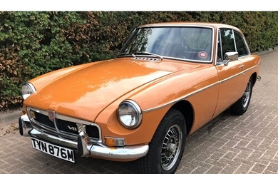 1973 MGB GT V8 COUPE Registration Number: TYN 876M Chassis ...