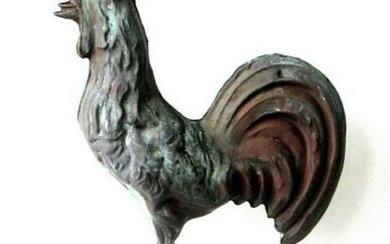 19th C Rooster Vane