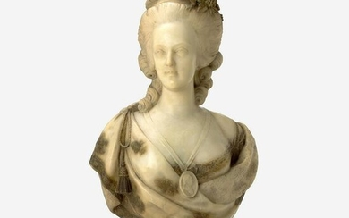 After Felix Lecomte (French, 1737-1817) A Marble Bust