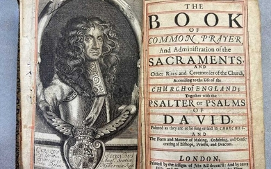 Book of Common Prayer, London: Printed by the Assigns of John Bill deceas'd, Henry Hills and